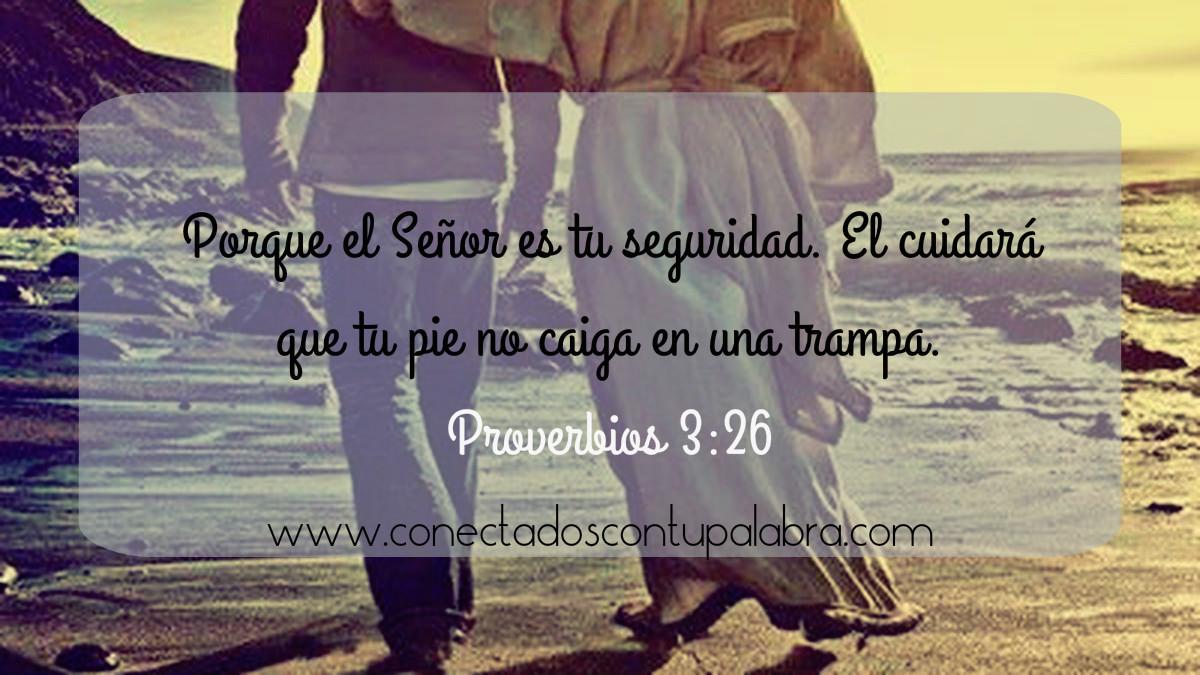 Proverbios 3:26