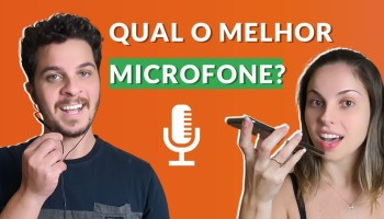 Qual microfone utilizar nas chamadas de vídeo?