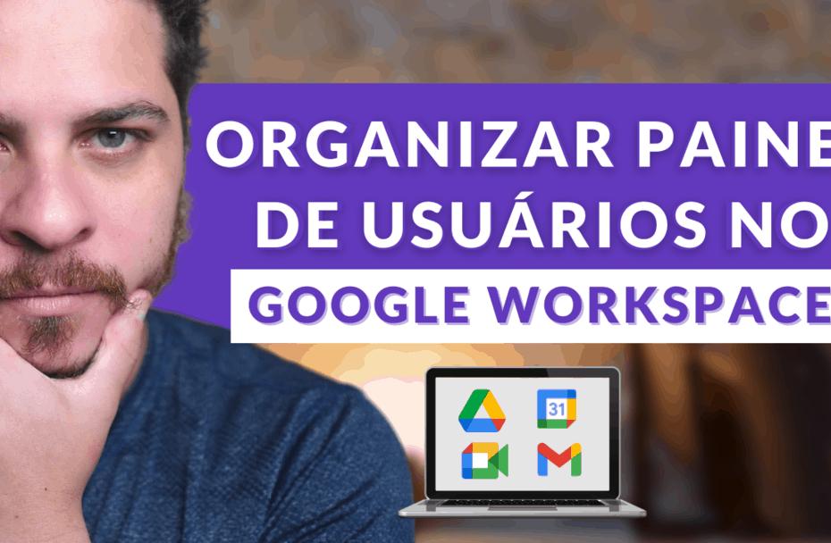 painel google workspace