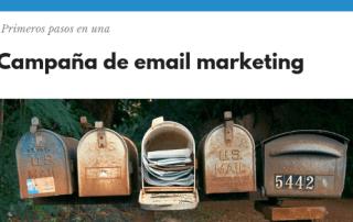 Campaña de email marketing - conecta y avanza
