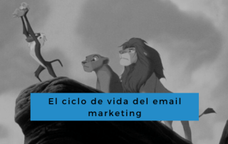 ciclo de vida del email marketing - conecta y avanza