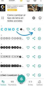 cambiar tipo de letra redes sociales - conecta y avanza