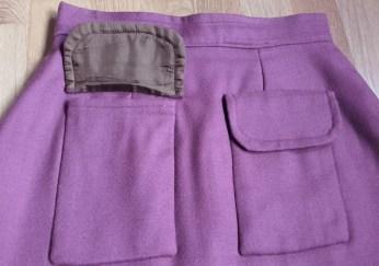 falda granate 4