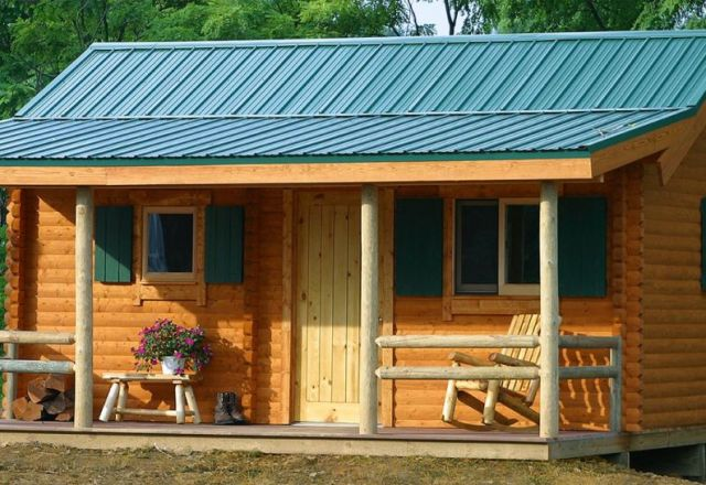 Log Cabins Structures Kits Small Affordable Conestoga Log Cabins