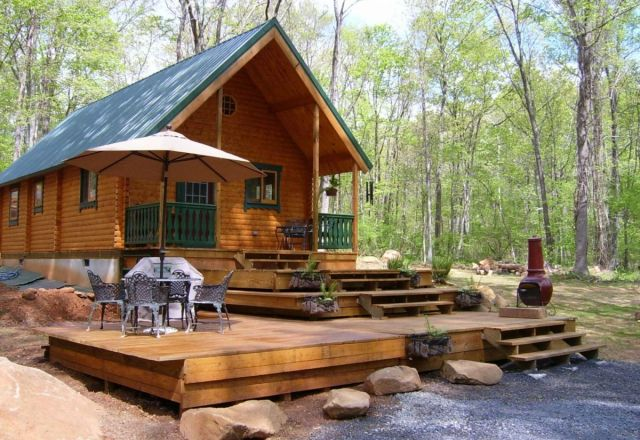 Vacationer Log cabin kit