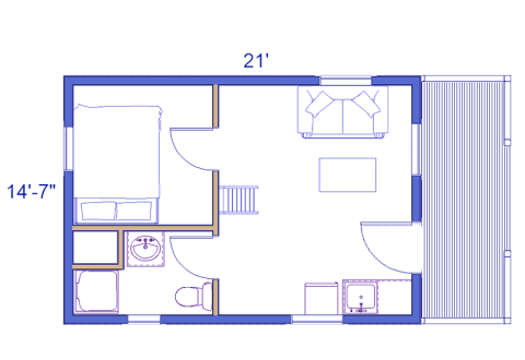 outdoorsman log cabin floor layout