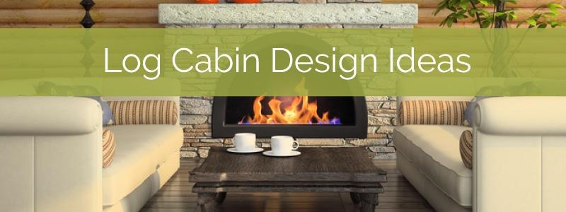log cabin interior design feature