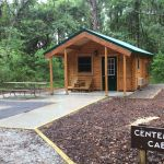 Centennial cabin at Carolina Beach State Park by Conestoga