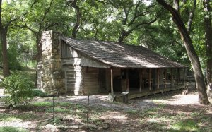 Haunted Cabins - Foster Log Cabin