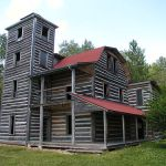 Haunted Cabins - White Otter Log Castle