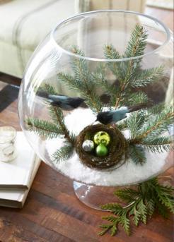 Cabin Decorations - Winter Scene