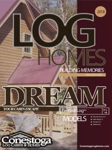 Conestoga Log Homes Dream Catalog