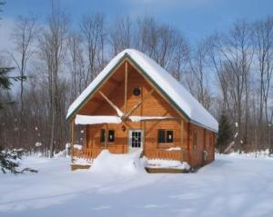 winter cabin decorations