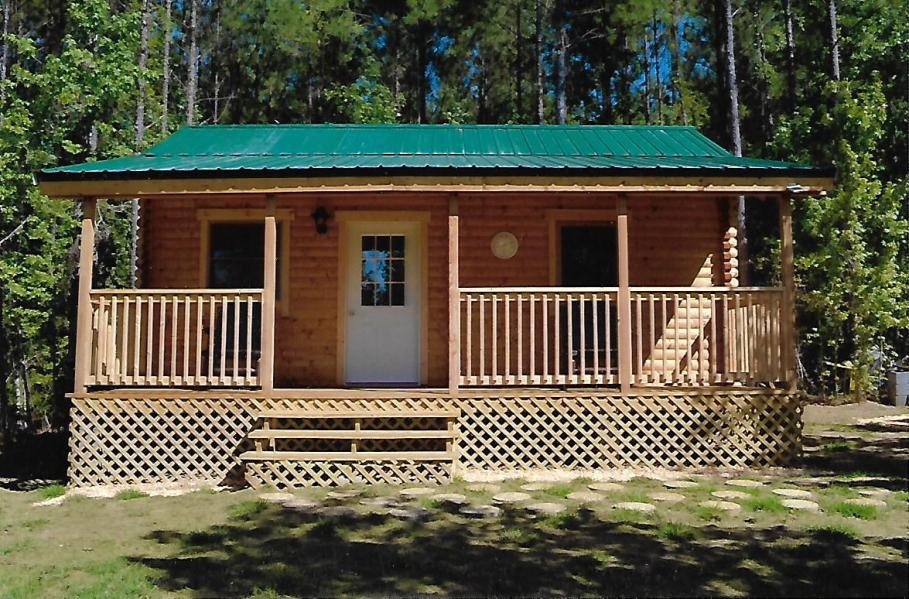 log cabin kit - bear creek