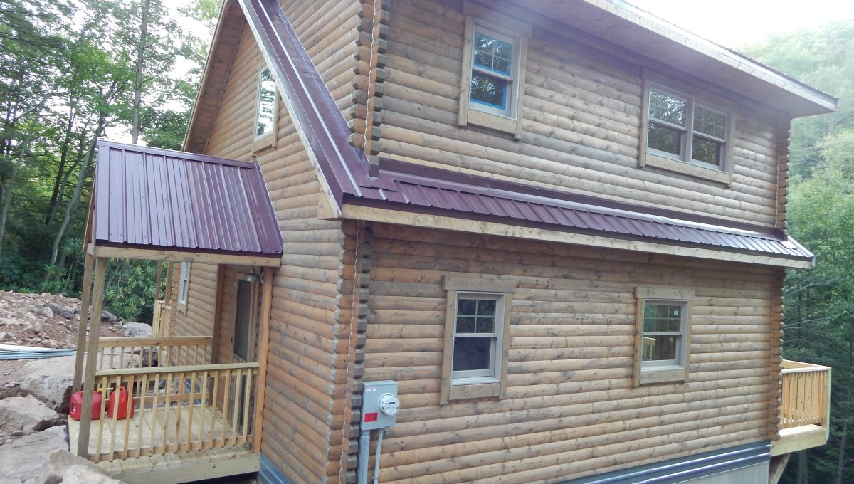 log cabin kits - brandywine