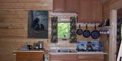 log cabin kit - outdoorsman