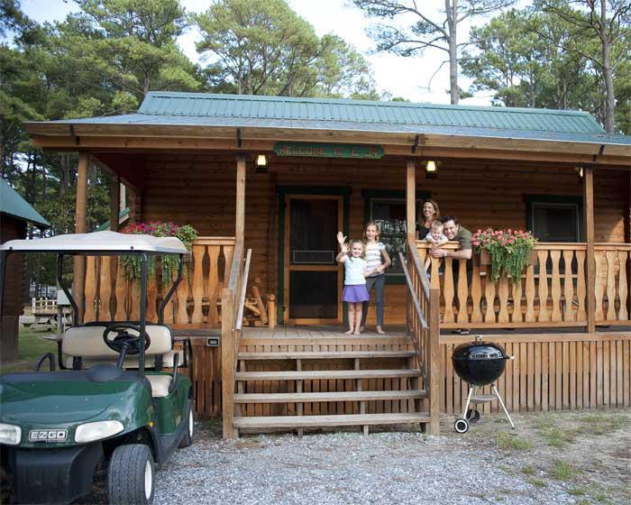 Frontier Camping Log Cabin Kit