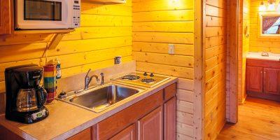 camping log cabin kits - heritage