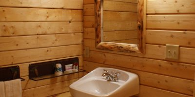 bunkhouse log cabin kit - elk lodge