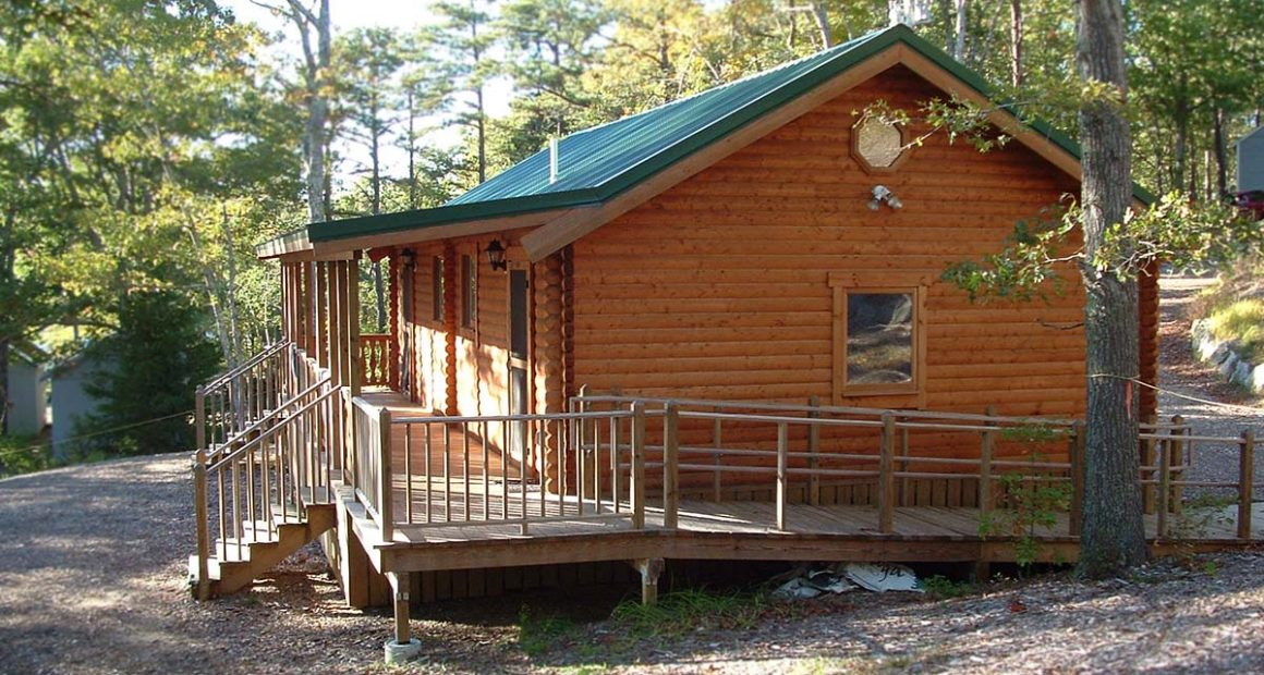 bunkhouse log cabin kit - moose lodge