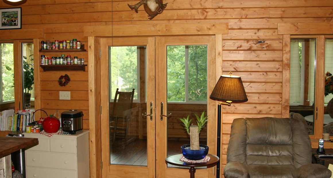 log home kits - riverview