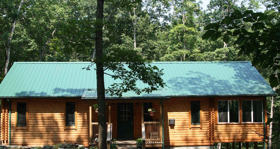 log home kits - riverview