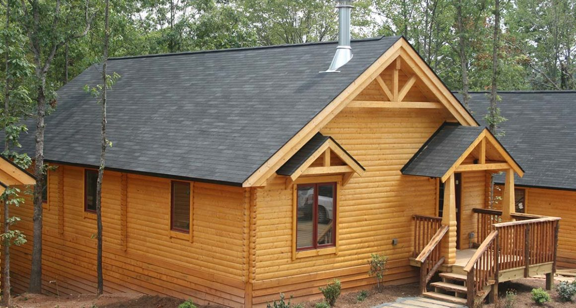 log home kits - meadowbrook