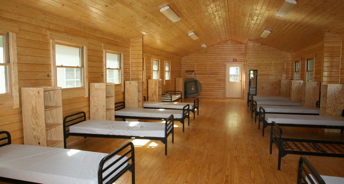 bunkhouse log cabin kit - explorer