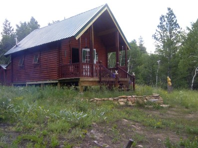 log cabin maintenance