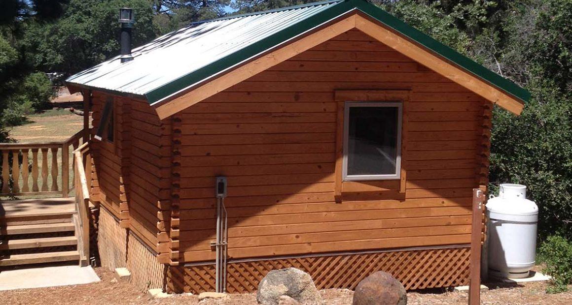 log cabin kits - hemlock