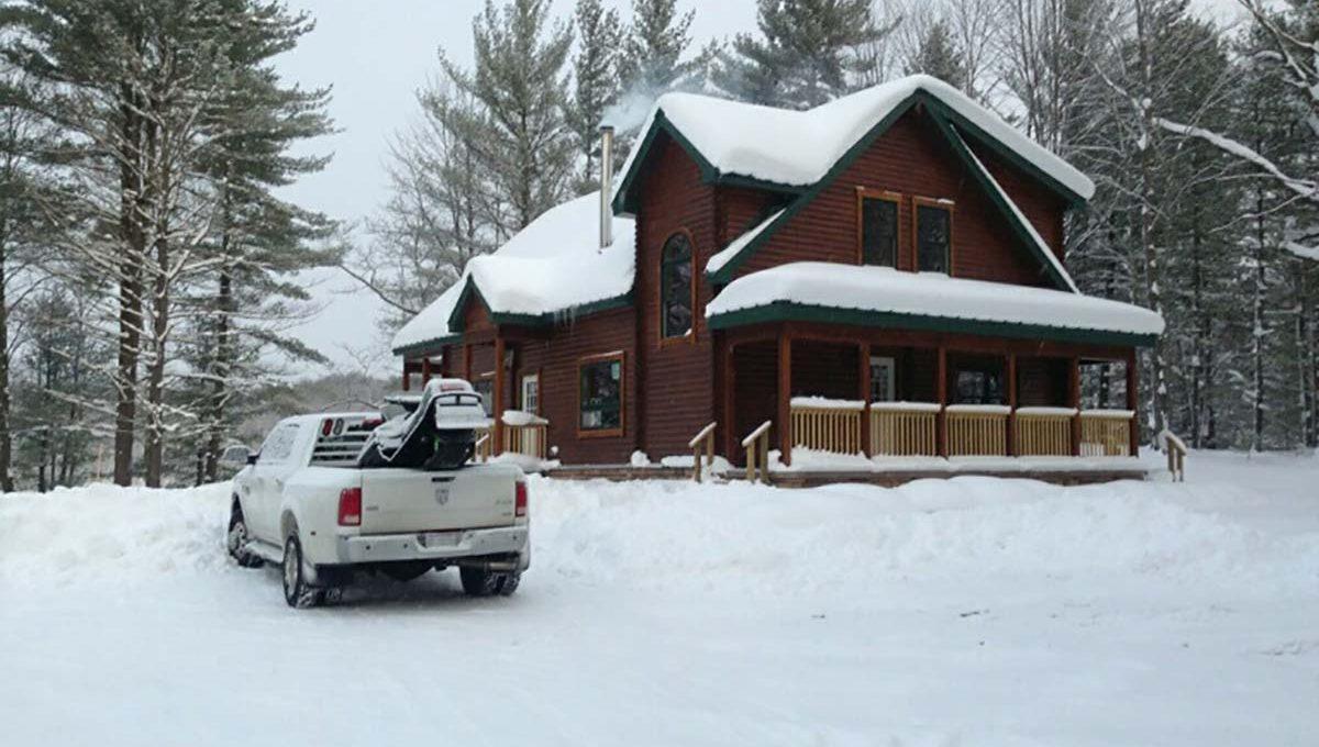 log home kits - timber ridge
