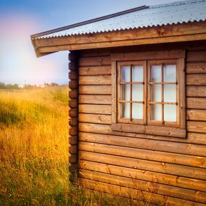 how to build a cabin on a budget