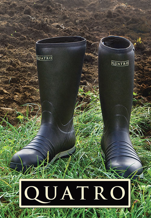 Quatro boots available from Conewango