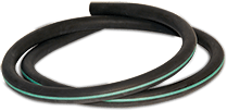 Green Line Natural Rubber Tubing