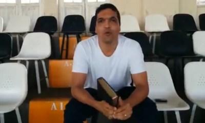 """Em vídeo, Daciolo pede que torcida do Vasco grite """"glória a Deus"""" durante o jogo; assista 24"""
