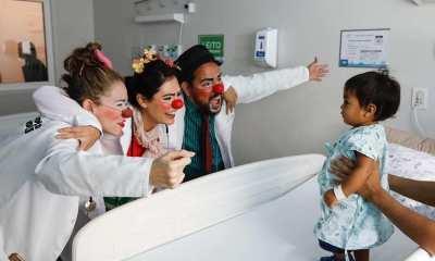 Michelle Bolsonaro faz trabalho voluntário no Hospital da Criança em Brasília 27