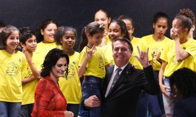 """""""Lutaremos incansavelmente para que o voluntariado seja uma marca do novo governo"""", diz Michelle Bolsonaro em discurso 31"""