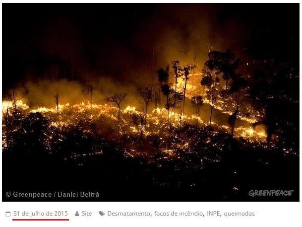 Checamos! Para criticar suposto descaso com a Amazônia, celebridades e líderes políticos publicam imagens antigas 23