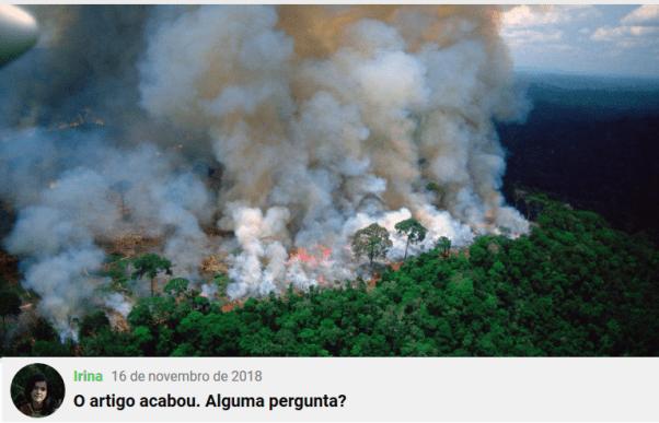 Checamos! Para criticar suposto descaso com a Amazônia, celebridades e líderes políticos publicam imagens antigas 18
