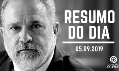 PODCAST: Ouça o Resumo do Dia sobre a decisão de Bolsonaro em nomear Augusto Aras para a PGR