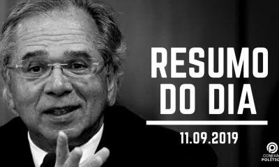 Ouça o Resumo do Dia #8: Paulo Guedes demite secretário da Receita e descarta nova CPMF