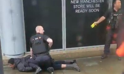 Inglaterra: Ataque terrorista com facão em shopping em Manchester deixa 5 feridos 29