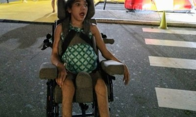Minas Gerais: Ladrões roubam cadeira de menina com paralisia 136