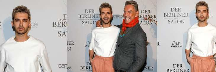Bill Kaulitz no Der Berliner Mode Salon (18.01.2017)