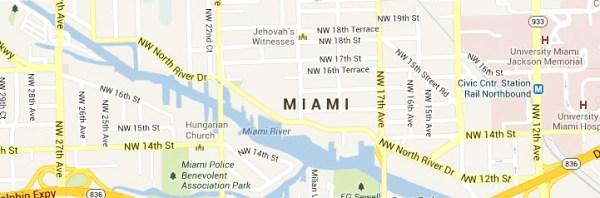 Miami-map