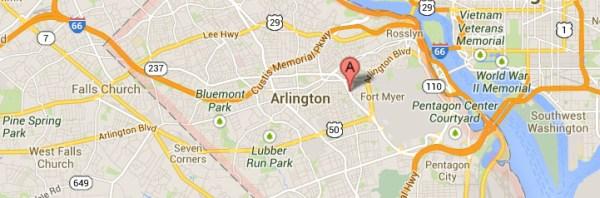 Arlington-map