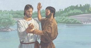 Bautismo jesus arrepentimiento convenio
