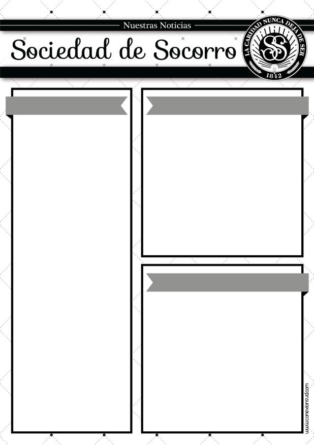 Boletín de Anuncios de la Sociedad de Socorro - Conexión SUD