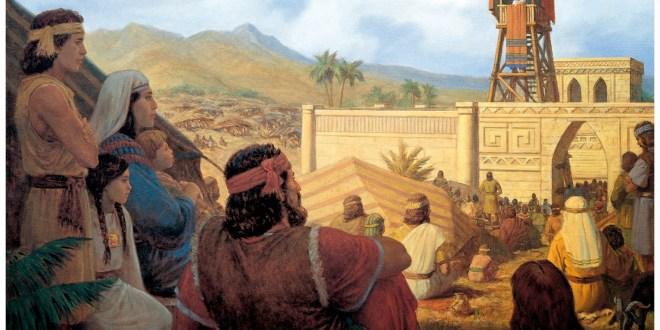 Discurso del Rey Benjamín en el Libro de Mormón
