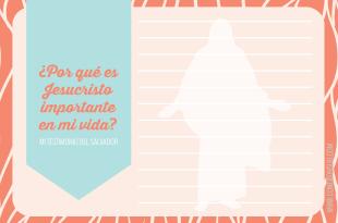 Mi Testimonio del Salvador